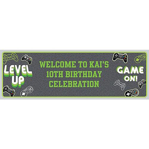Custom Level Up Horizontal Banner Image #1