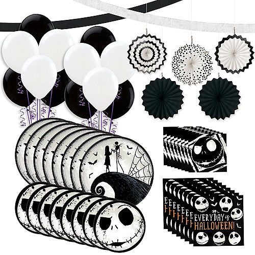 The Nightmare Before Christmas Tableware Kit for 8 Guests Image #1