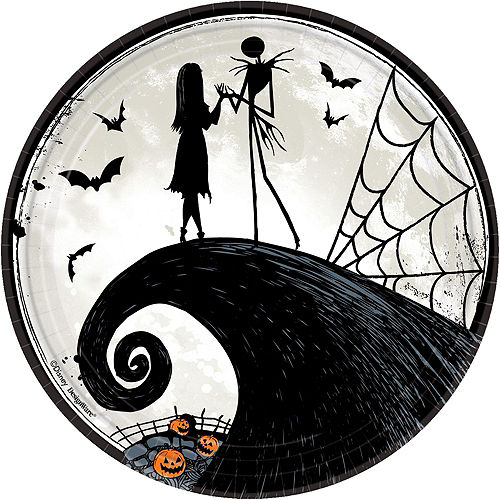 The Nightmare Before Christmas Tableware Kit for 8 Guests Image #3
