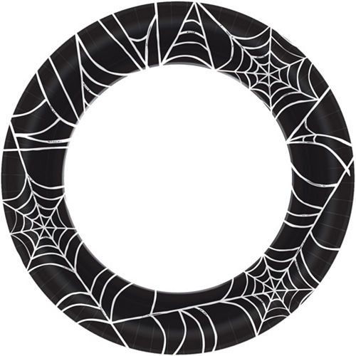 Spider Web Halloween Tableware Kit for 40 Guests Image #3