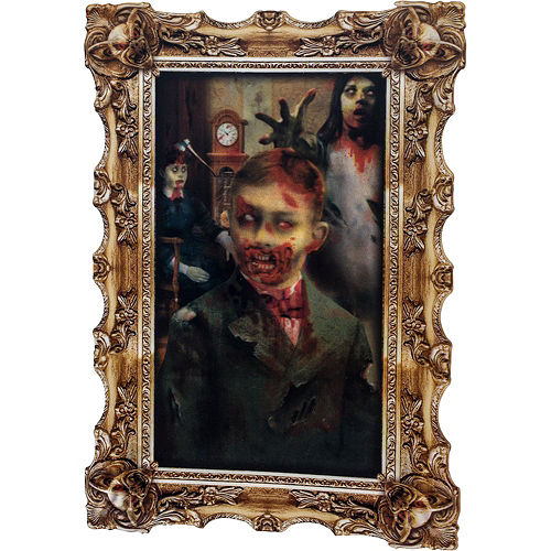 Haunted House Portrait Gallery Wall Decorating Kit Image #2