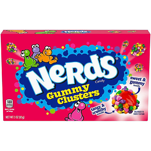 Nerds Gummy Clusters Theater Box, 3oz Image #1