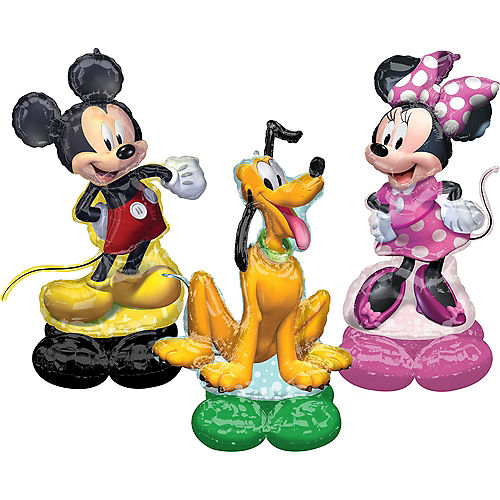 AirLoonz Mickey & Minnie Forever Foil Balloon Set, 3pc Image #1