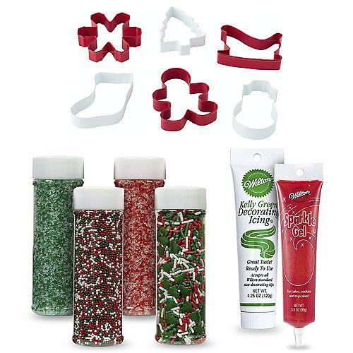 Santa's Reindeer Cookie Decorating Kit Image #1