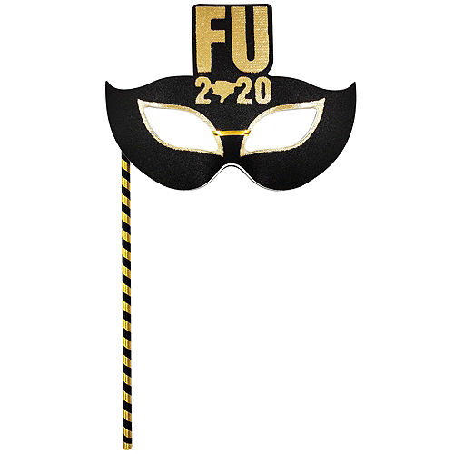Black & Gold FU 2020 New Year's Party Kit for 16 Guests Image #6