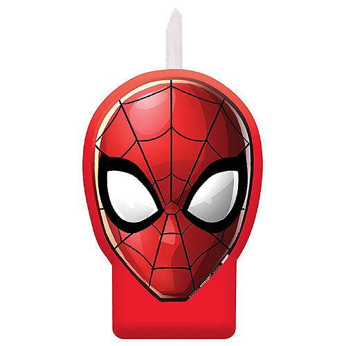 Spider-Man Webbed Wonder-Shaped Candle Image #1