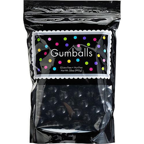 Black Gumballs, 35oz - Fruit Flavor Image #1