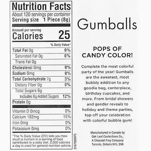 Black Gumballs, 35oz - Fruit Flavor Image #3