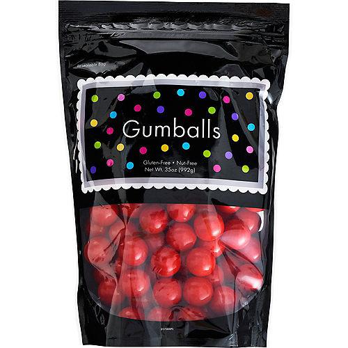 Red Gumballs, 35oz - Cherry Flavor Image #1