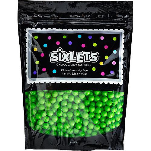 Green Chocolate Sixlets, 35oz Image #1