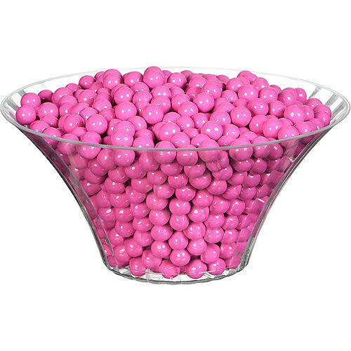 Bright Pink Chocolate Sixlets, 35oz Image #2