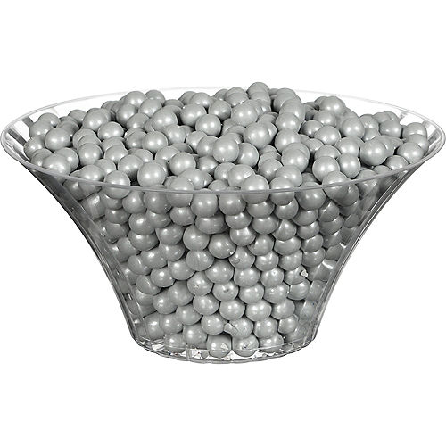 Silver Chocolate Sixlets, 35oz Image #2