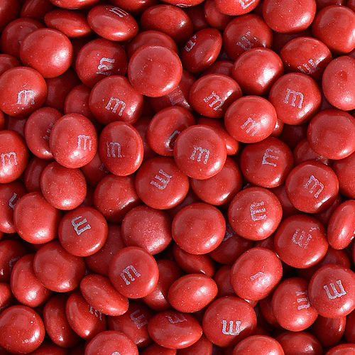 Red Milk Chocolate M&M's, 16oz Image #2
