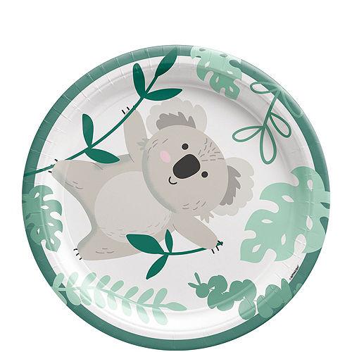Koala Birthday Tableware Kit for 8 Guests Image #2