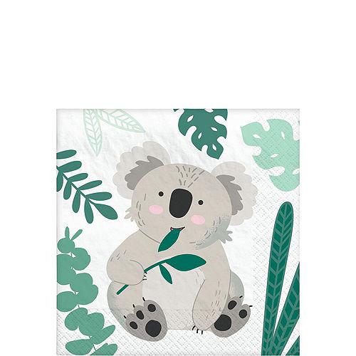 Koala Birthday Tableware Kit for 8 Guests Image #4