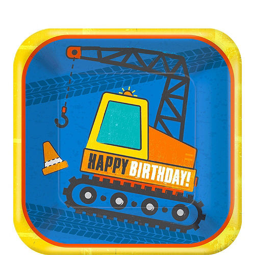 Construction Birthday Party Kit for 16 Guests Image #2