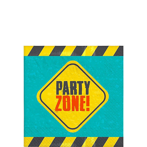 Construction Birthday Party Kit for 16 Guests Image #4