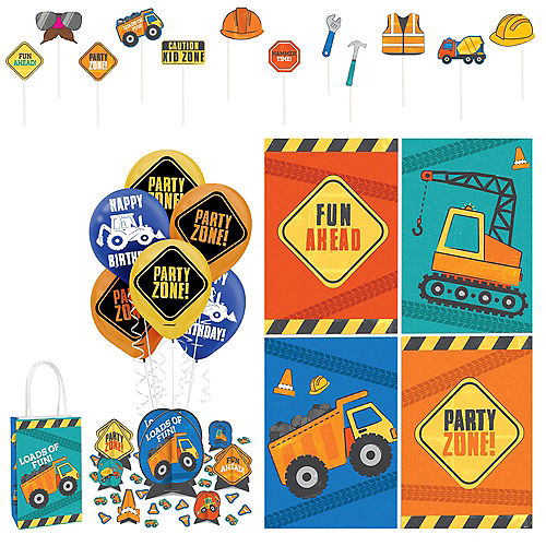 Construction Birthday Party Accessory Kit Image #1