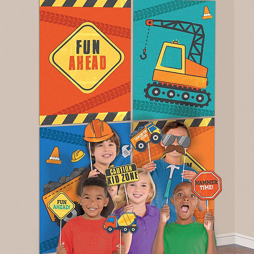 Construction Birthday Party Accessory Kit Image #3