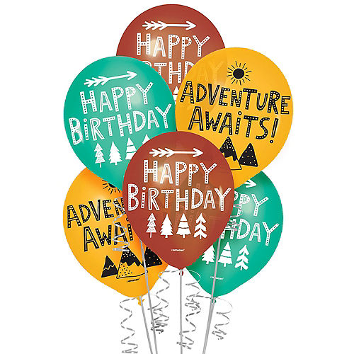 Wilderness Latex Balloons, 12in, 6ct Image #1