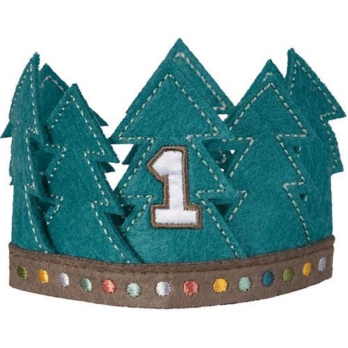 Wilderness 1st Birthday Felt Crown Image #1