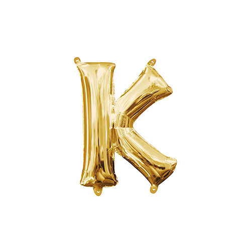 13in Air-Filled Gold Happy Kwanzaa Balloon Phrase Image #4