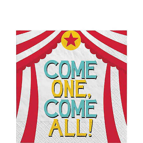 Carnival Lunch Napkins 16ct Image #1