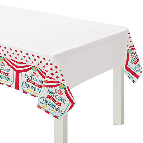 Carnival Plastic Table Cover Image #1