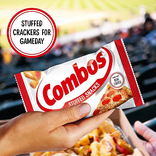 Combos Stuffed Baked Cracker Snacks, 1.7oz - Pepperoni Pizza Image #5