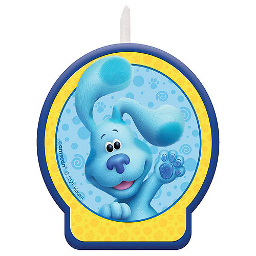 Blue's Clues & You! Wax Birthday Candle Image #1