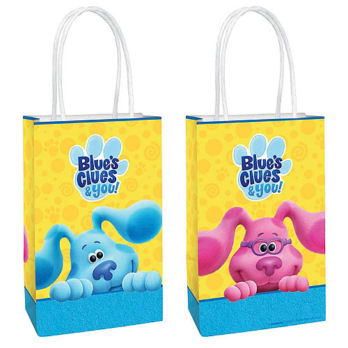 Blue's Clues & You! Kraft Favor Bags, 5in x 8.25in, 8ct Image #1