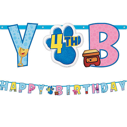 Blue's Clues & You! Birthday Banner Kit, 10.7ft Image #1