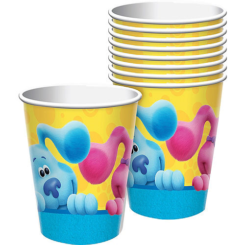 Blue's Clues & You! Paper Cups, 9oz, 8ct Image #1