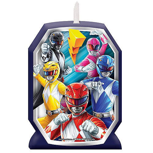 Power Rangers Classic Wax Birthday Candle Image #1