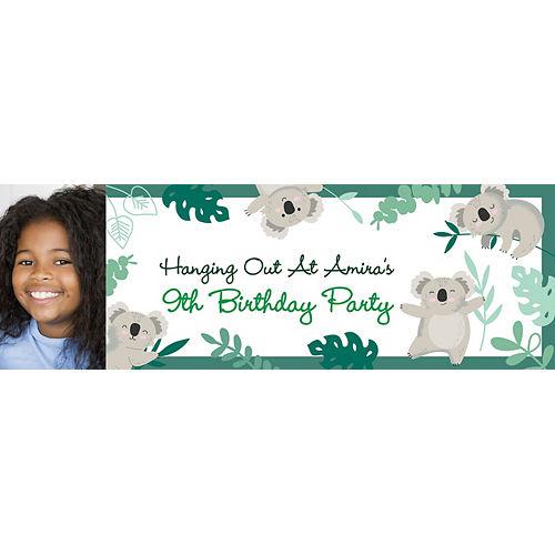 Custom Koala Photo Horizontal Banner Image #1