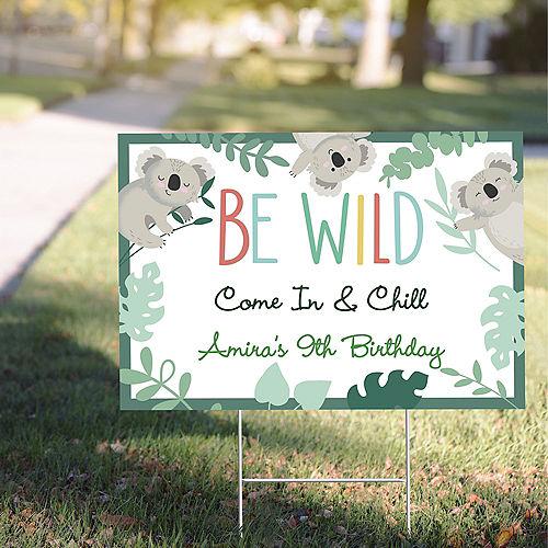 Custom Koala Yard Sign Image #1