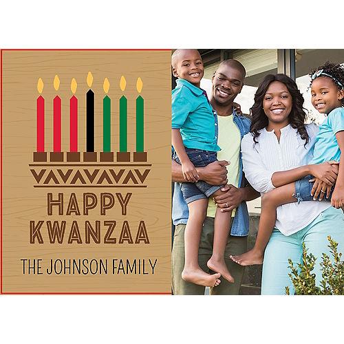 Custom Kwanzaa Photo Cards Image #1