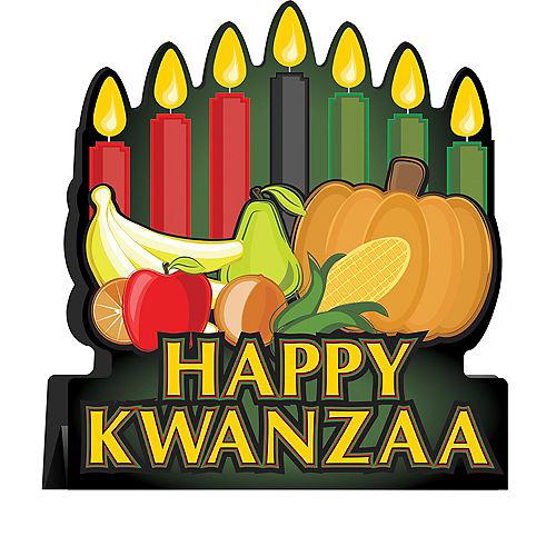 Happy Kwanzaa Centerpiece Image #1