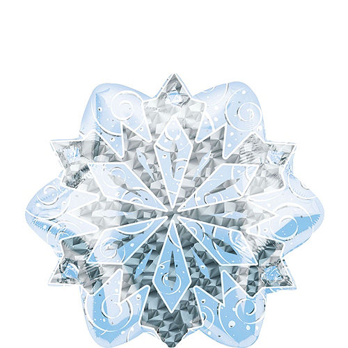 Shimmering Snowflakes Foil Balloon Bouquet, 7pc Image #5