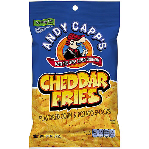 Andy Capp's Cheddar Fries, 3oz Image #1