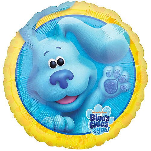 Nickelodeon Blue's Clues & You Foil Balloon, 18in Image #1