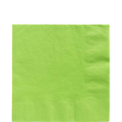 Kiwi Green Paper Lunch Napkins, 6.5in, 100ct Image #1