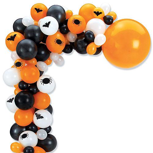 Air-Filled Bats & Spiders Halloween Balloon Garland Kit Image #2