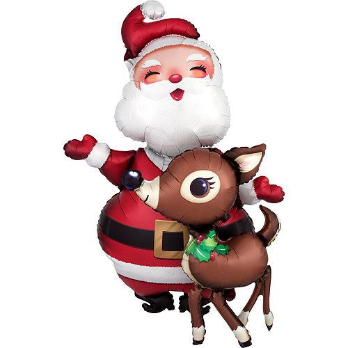 Santa's Christmas Lights Balloon Kit, 7pc Image #3