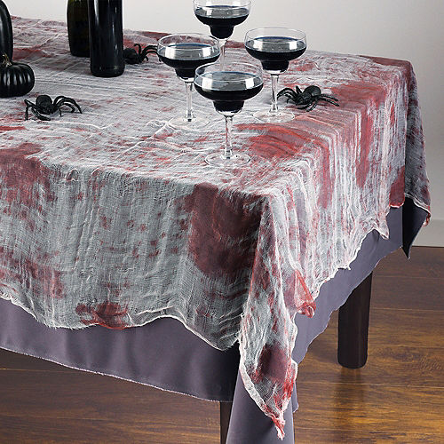Bloody Gauze Fabric Tablecloth, 60in x 84in Image #1