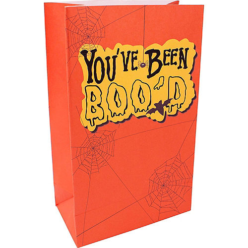 You've Been Boo'd Kraft Paper Gift Bags, 5.25in x 8.5in, 3ct Image #2
