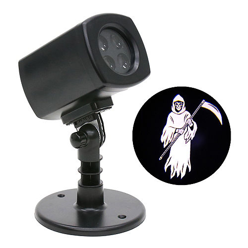 Animated Grim Reaper Motion Projector, 4in x 7in Image #1