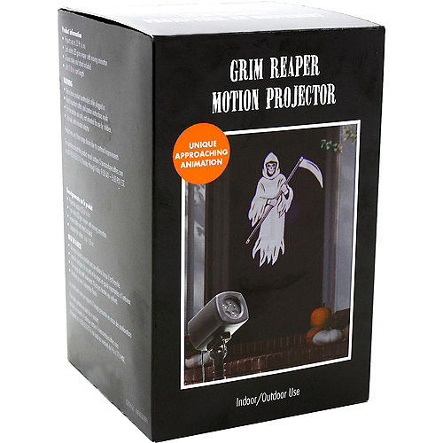 Animated Grim Reaper Motion Projector, 4in x 7in Image #4