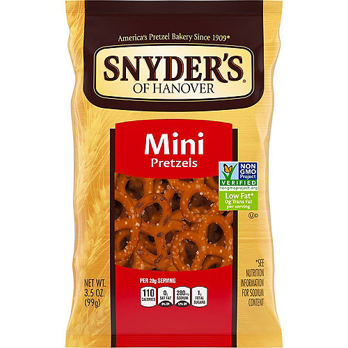 Snyder's of Hanover Mini Pretzels, 3.5oz Image #1