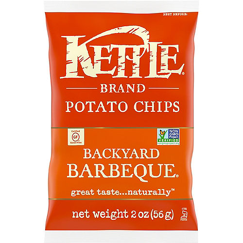 Kettle Brand Potato Chips, 2oz - Backyard Barbeque Image #1